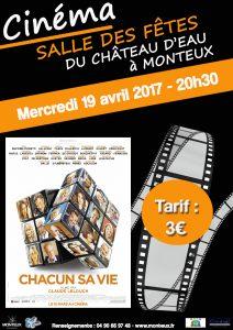 AFFICHE - Cinéma 19 04 17