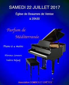 Piano à 4 main - Beaumes de VENISE