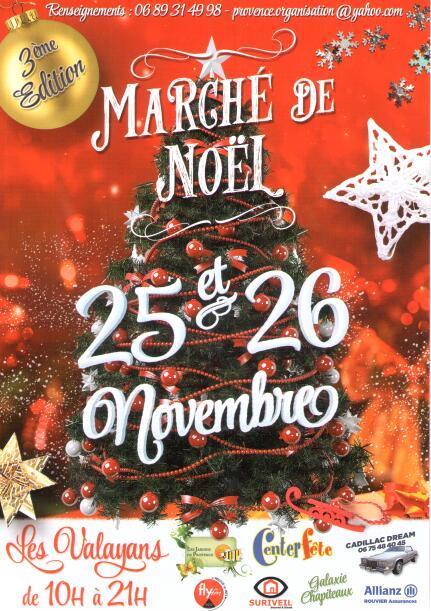 Marché de Noel Les Valayans