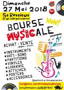Bourse Musicale à St Restitut - 13 mai 2018