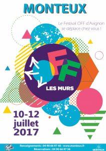Le Festival Off d'Avignon arrive à MONTEUX !
