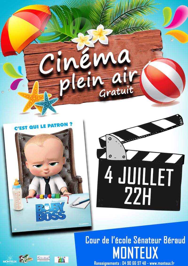 Cinéma Plein Air – Monteux –