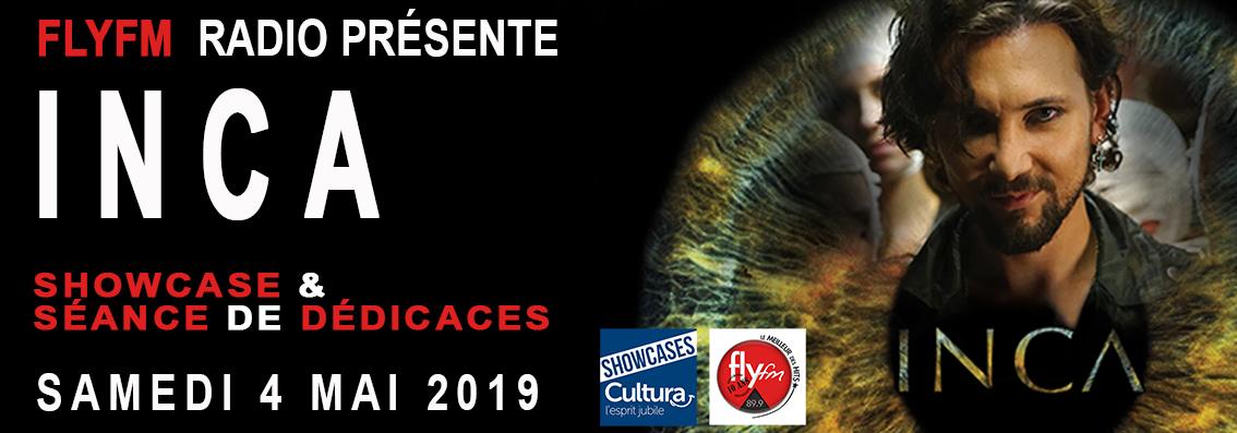 INCA EN SHOWCASE AVEC FLYFM LE SAMEDI 4 MAI 2019
