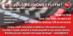 Rejoindre l'équipe de FlyFM