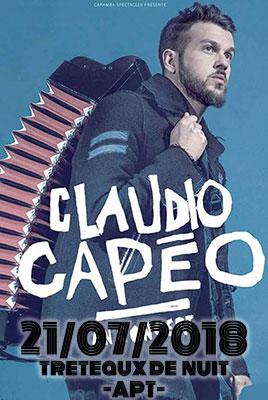 Claudio Capeo – treteaux de nuit à Apt