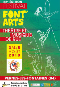 Font Arts 2018 à Pernes les Fontaines