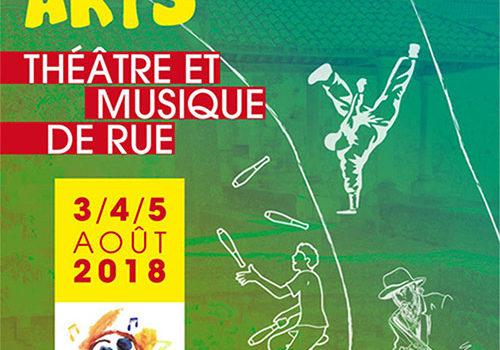 Font Arts 2018 – Pernes les Fontaines du 03 au 05 août 2018