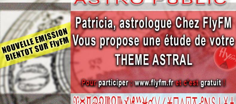 Astro Public' – Nouvelle émission pour cette rentrée