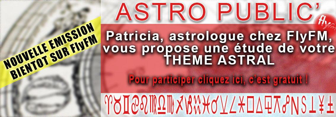 Astro Public' Nouvelle émission sur FlyFM