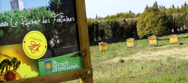 Le rucher des fontaines à Pernes