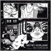 Metro Verlaine Velours Noir