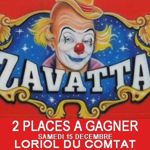 Jeu concours Cirque Zavatta