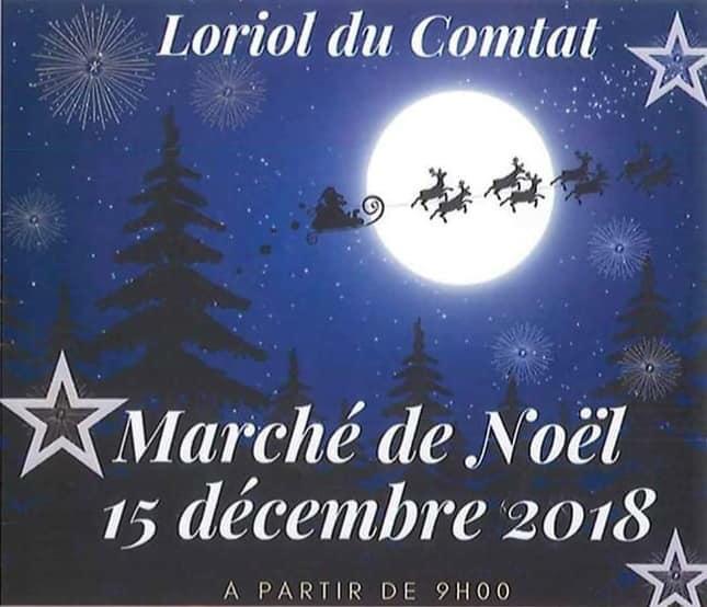 Marché de Noël de Loriol-Du-Comtat