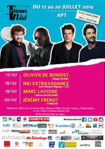 Festival Les Treéteaux de Nuit - Apt (84) du 17/07 au 20/07/2019