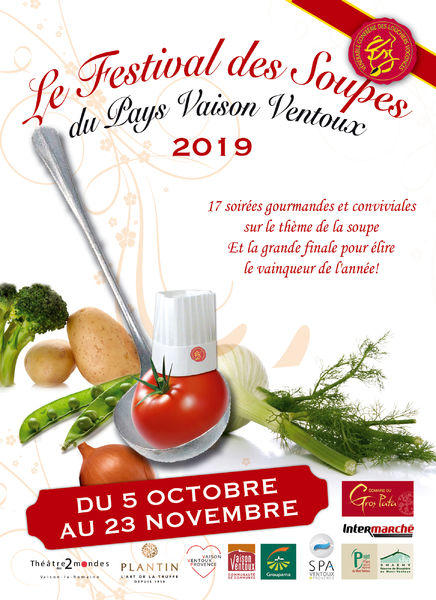 FESTIVAL DES SOUPES 2019 – SAINT MARCELLIN LES VAISON