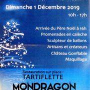 Marché de noël Mondragon