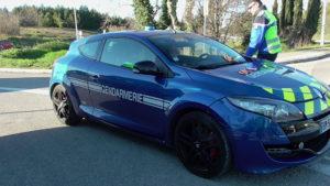 Mégane RS de la Gendarmerie