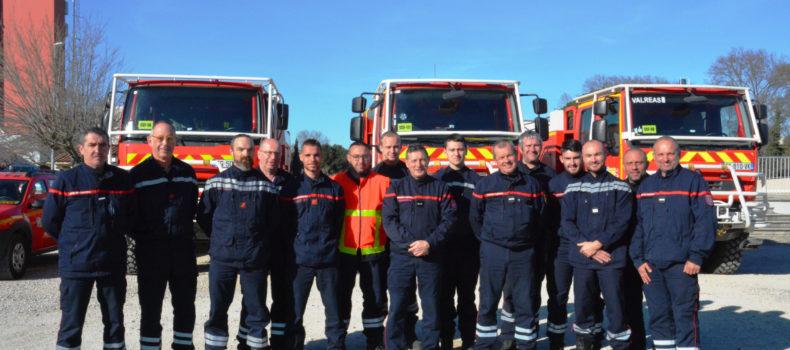 Les Sapeurs-Pompiers vauclusiens sont de retour