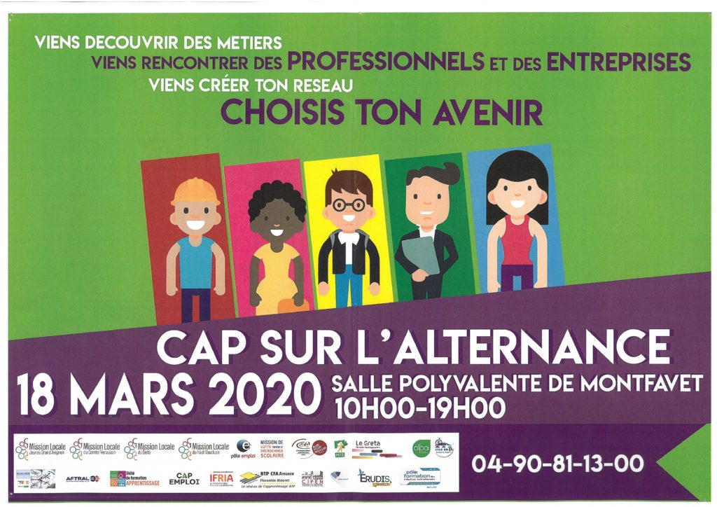 Forum de l'alternance - 18 mars 2020