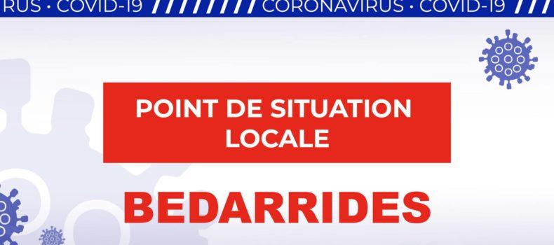 Reprise de l'école à Bédarrides de façon progréssive
