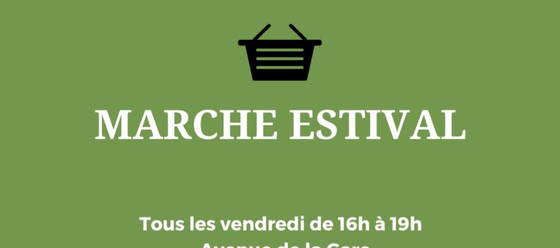 Bedarrides- Le retour du marché estival