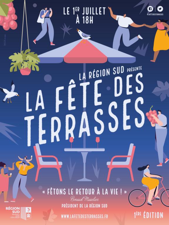 LA FÊTE DES TERRASSES 2020