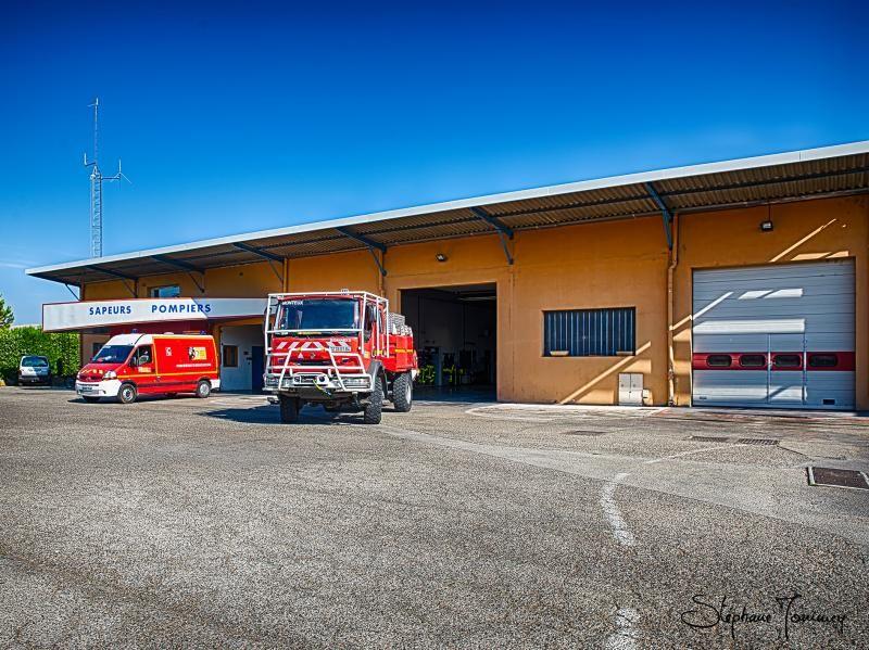 Caserne de pompiers - Ville de Monteux