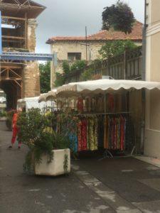 Marché de Monteux - Rue Gaston GONNET