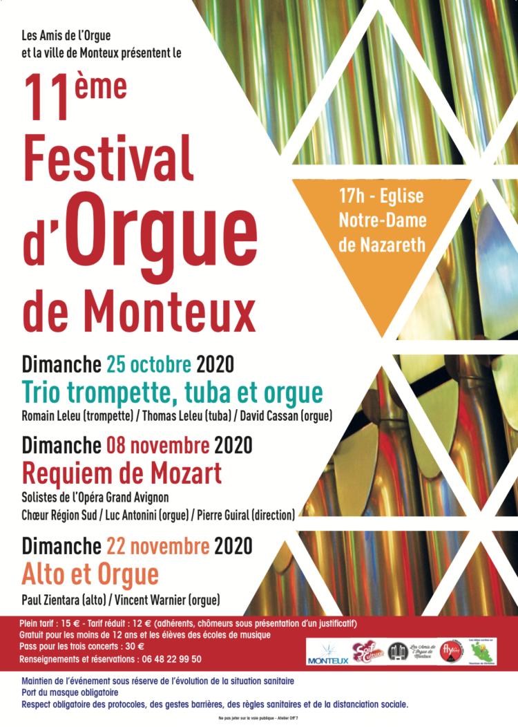 11ème Festival de l'Orgue à Monteux
