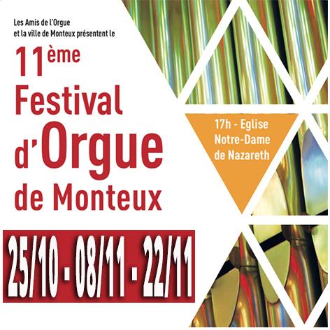 11ème Festival de l'Orgue - Monteux