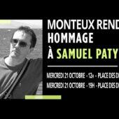 Monteux Rend Hommage à Samuel Paty