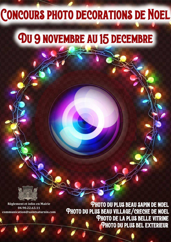 Concours Photos de Noel à Saint Saturnin les Avignon