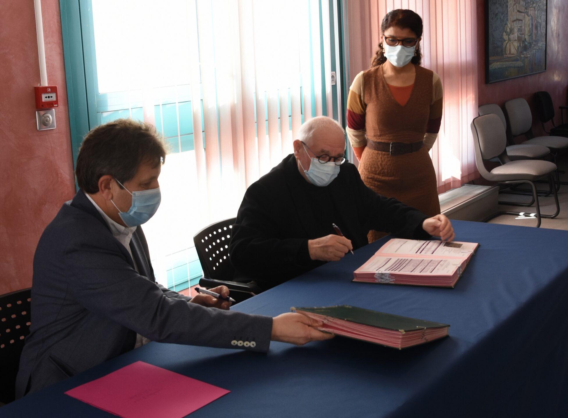 Sorgues : Signature du bail avec l'IMCA