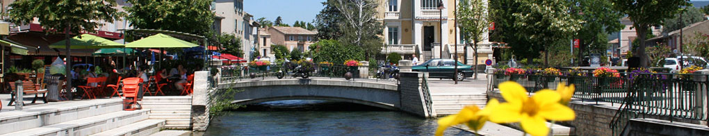 Pont Rose Goudard - Isle Sur La Sorgue