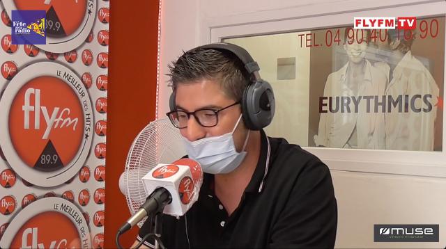 Jérémy DE CRUZ de la Radio STUDFM à Pertuis