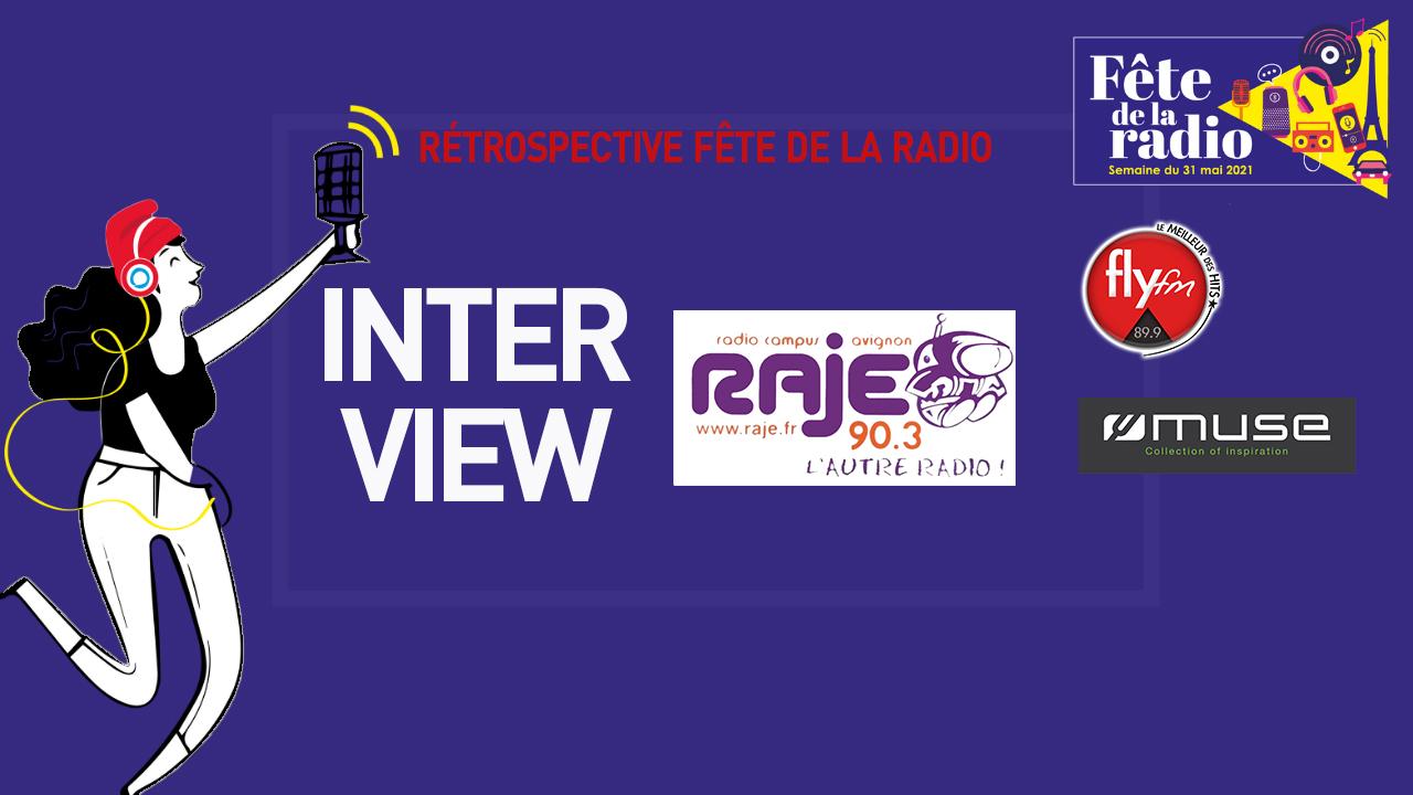 Interview Radio RAJE Avignon