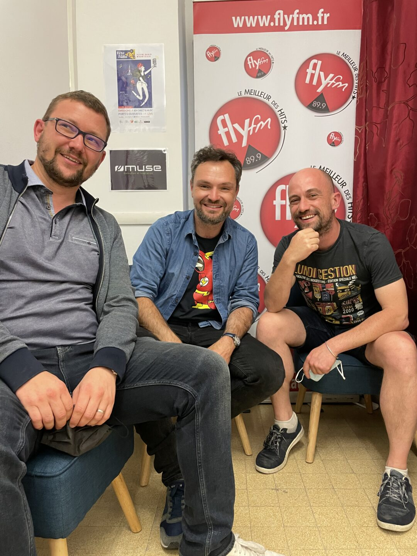 RADIO RAJE avec Damien Boufaut, Vincent Fuchs et Florent Mounier