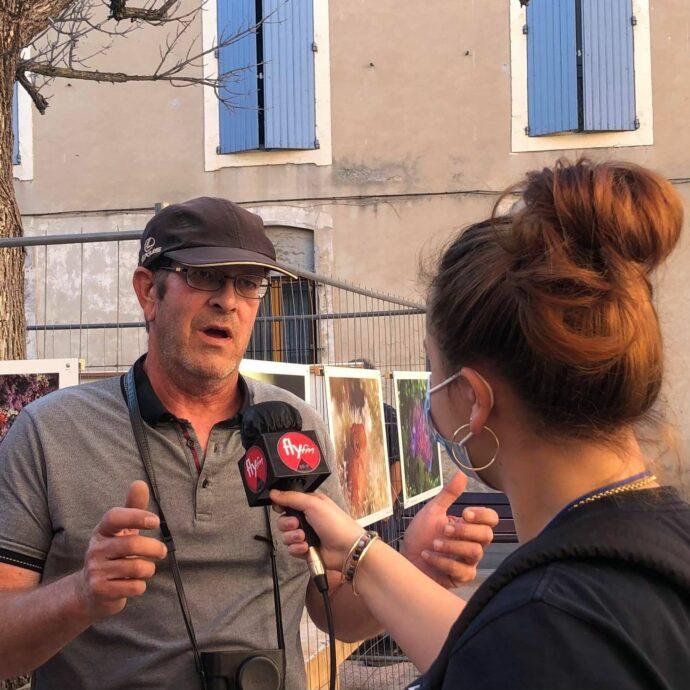Interview Luc Fischer Exposition Nature en Provence