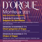 Festival de L'orgue 2021 - Monteux