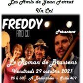 Le Roman de Brassens par Freddy and Co - Ville de Bédarrides et les Amis de Jean Ferrat